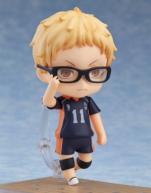 (Action Figure) Haikyu!! Second Season Nendoroid Kei Tsukishima (2nd Re-release)