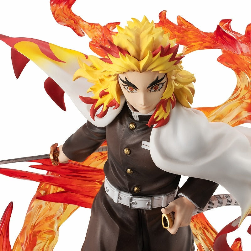 (Figure) Demon Slayer: Kimetsu no Yaiba G.E. M.Series Kyojuro Rengoku