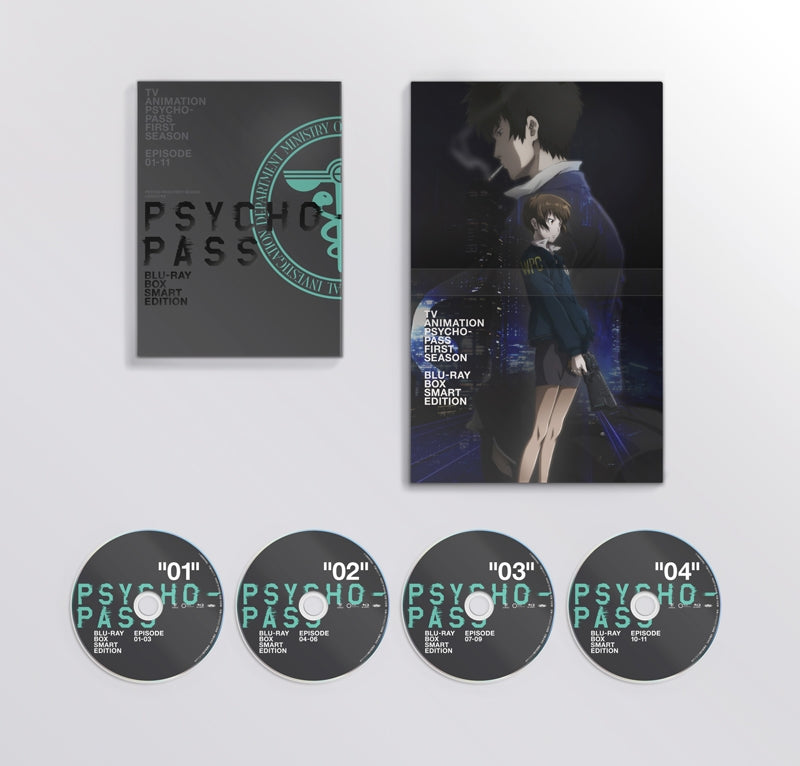 (Blu-ray) PSYCHO-PASS [New Edit Edition, Blu-ray BOX Smart Edition] Animate International