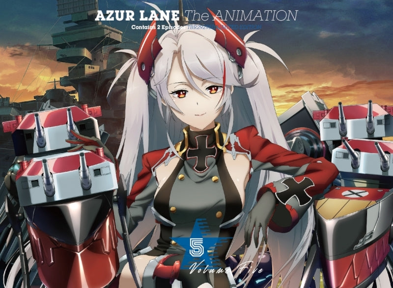 [★1](Blu-ray) Azur Lane TV Series Vol. 5 [First Run Limited Edition]