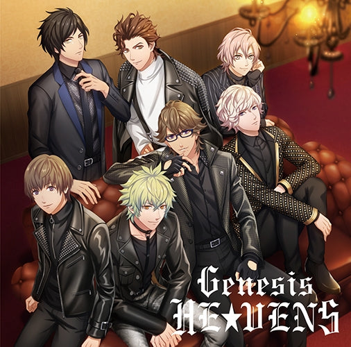 (Character Song) Uta no Prince-sama: SUPER STAR/THIS IS. . . !/Genesis HE★VENS [Cover Art: HE★VENS Ver.]