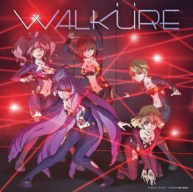(Album) Macross Delta TV Series 2nd Album Walkure Trap! by WALKURE [w/ DVD, Limited Edition]