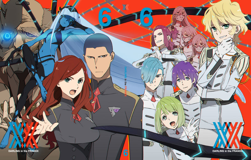 (DVD) Darling in the Franxx TV Series Vol. 6 [Production Run Limited Edition]