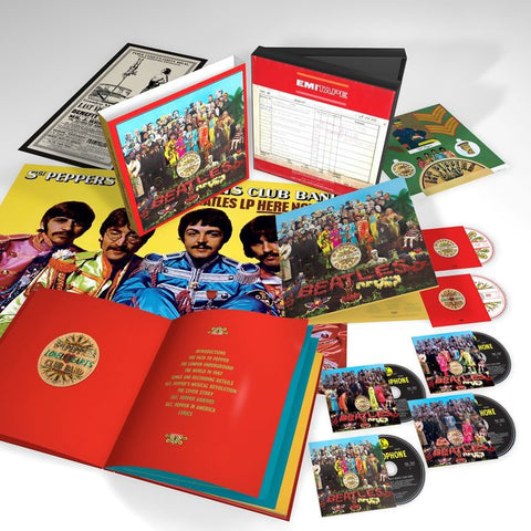 (Album) The Beatles / Sgt. Pepper's Lonely Hearts Club Band (Super Deluxe Edition / Japan Version)  [4SHM-CD + Blu-ray + DVD / Limited Edition]