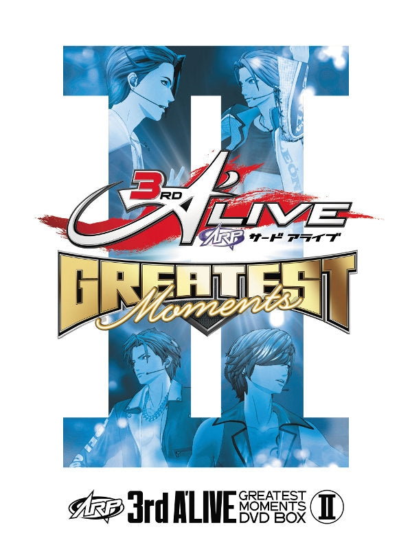 (DVD) ARP: 3rd A'LIVE GREATEST MOMENTS DVD BOX II
