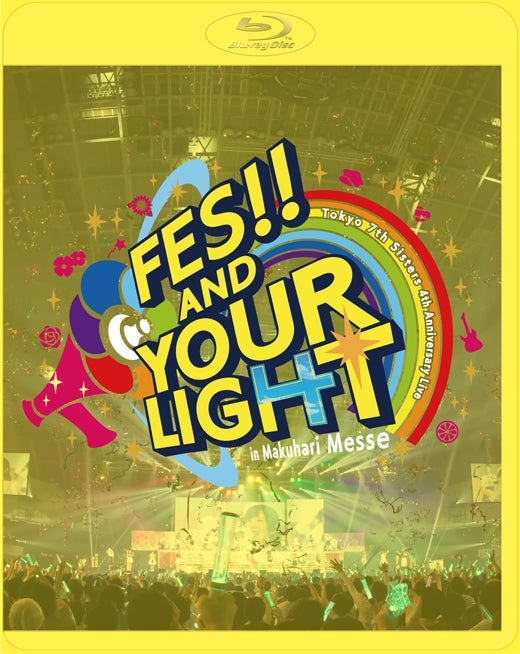 (Blu-ray) Tokyo 7th Sisters t7s 4th Anniversary Live -FES!! AND YOUR LIGHT- in Makuhari Messe [First Run Limited Edition]