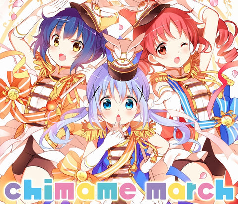 (Album) Is the order a rabbit?? chimame march