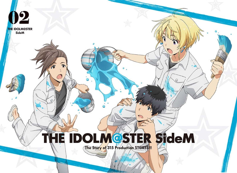 (DVD) THE IDOLM@STER (Idolmaster) SideM TV Series Vol. 2 [Full Production Limited Edition]