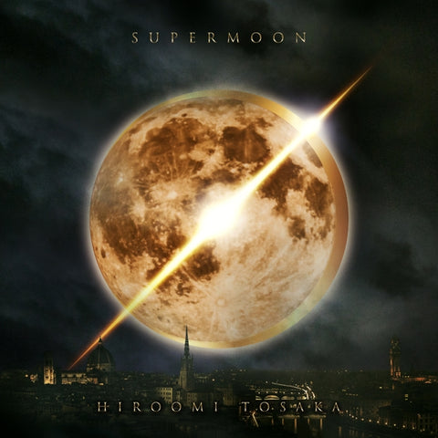 (Maxi Single) SUPERMOON by HIROOMI TOSAKA - Including Detective Conan the Movie: The Fist of Blue Sapphire  Theme Song: BLUE SAPPHIRE [CD + DVD Edition]