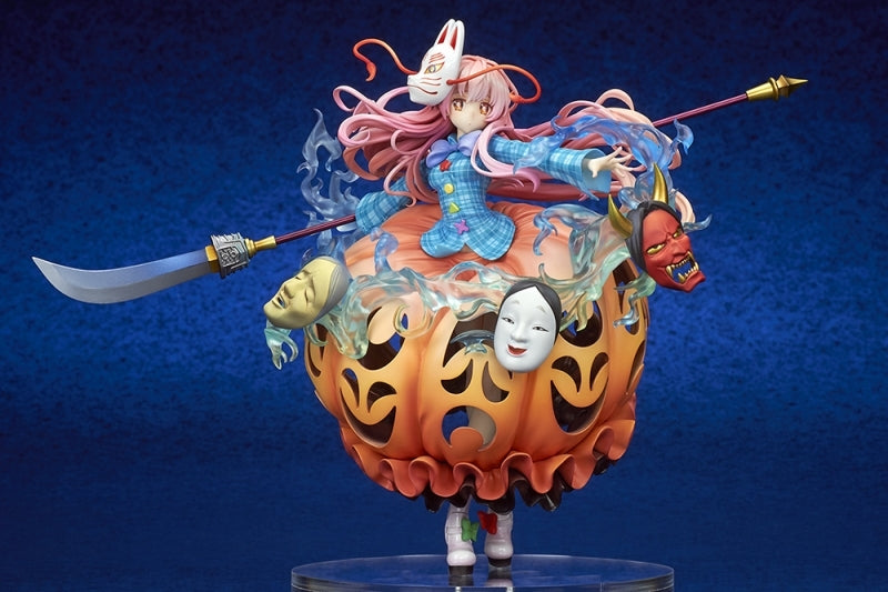 (Bishojo Figure) Touhou Project Hata no Kokoro: Expressive Poker Face 1/8 Completed Figure