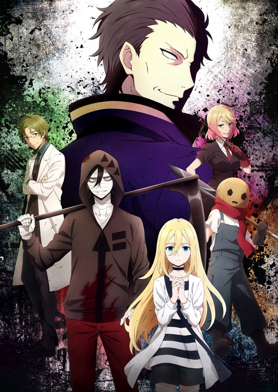 (Blu-ray) Angels of Death TV Series Vol. 2 [animate Limited Set]