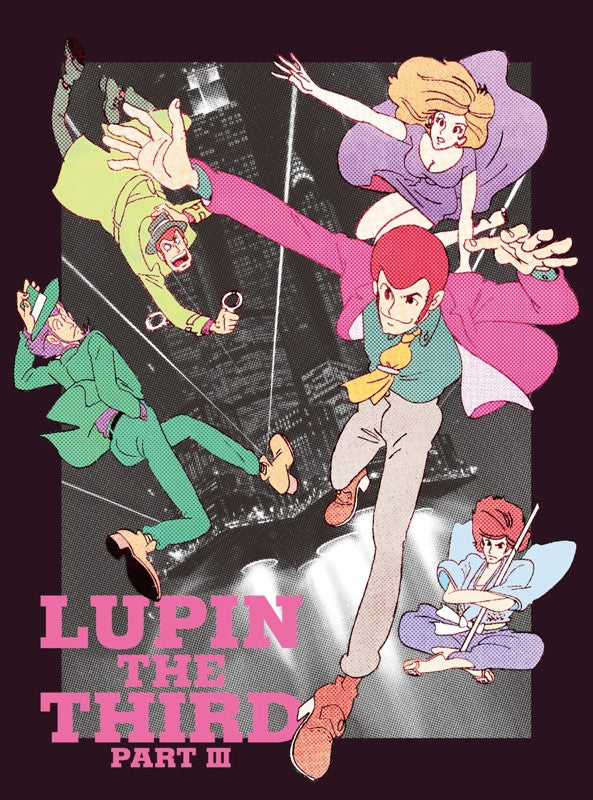 (Blu-ray) Lupin The Third Part 3 Blu-ray Box