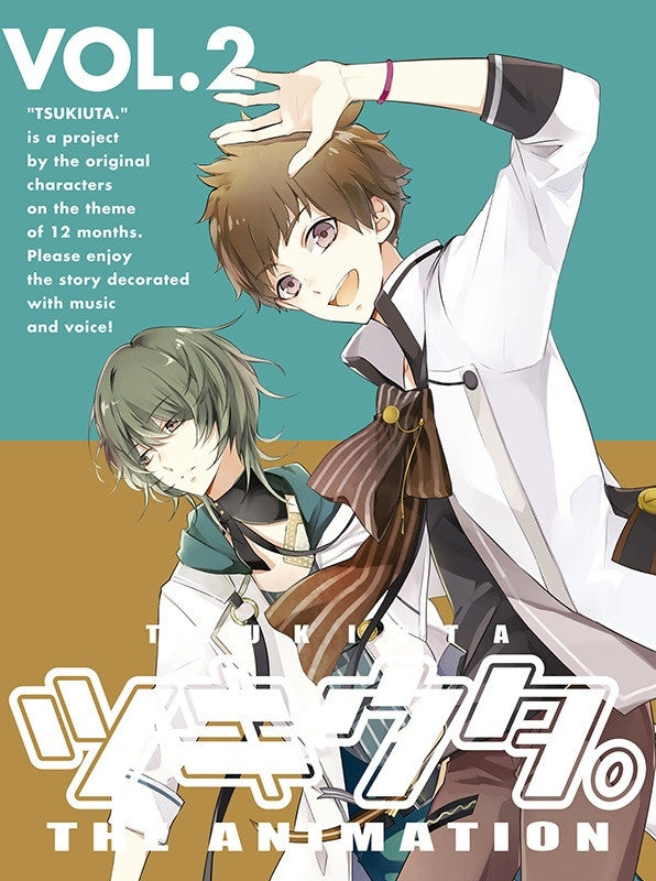 (Blu-ray) Tsukiuta. THE ANIMATION TV Series Vol. 2 Animate International
