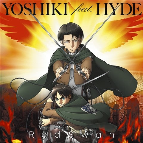 (Theme Song) Attack on Titan TV Series Season 3 OP: Red Swan by YOSHIKI feat. HYDE [Attack on Titan Edition]
