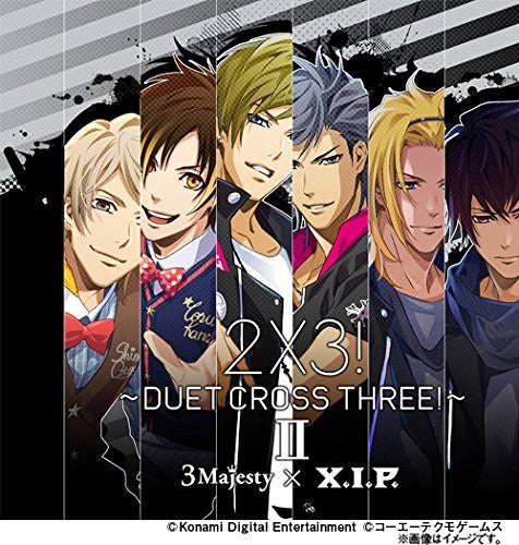 (Character Song) Tokimeki Restaurant ☆☆☆ 3 Majesty×X.I.P./2x3! -Duet Cross Three!- 2 [Limited Edition]