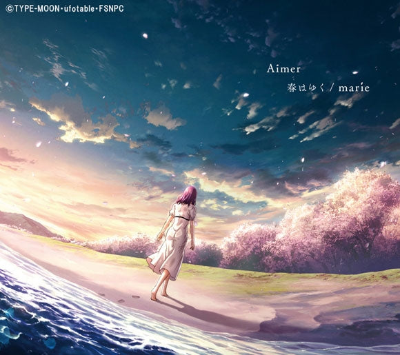 (Theme Song) Fate/stay night the Movie: [Heaven's Feel] III. spring song Theme Song: Haruhayuku by Aimer [Production Run Limited Edition]