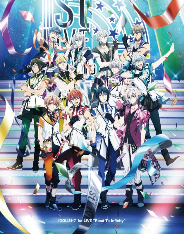 (Blu-ray) IDOLiSH7 1st LIVE Road To Infinity BOX -Limited Edition- [animate Limited Set]