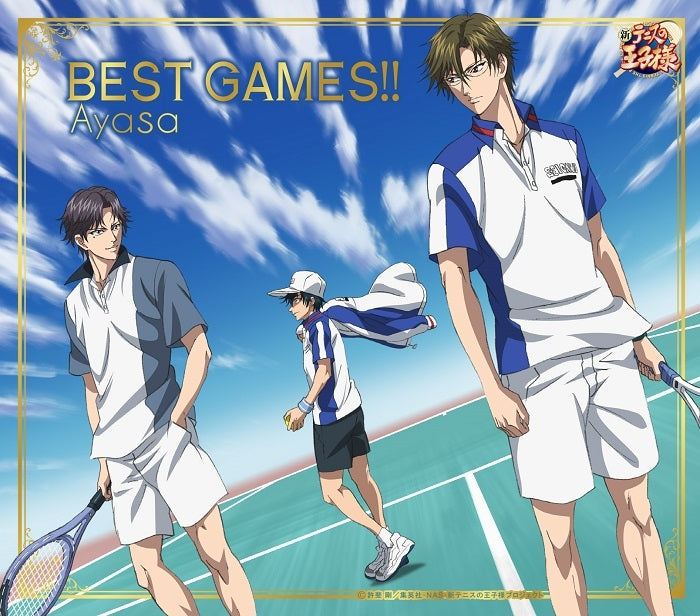 (Theme Song) The Prince of Tennis OVA: BEST GAMES!! Tezuka VS Atobe OP: BEST GAMES!! by Ayasa