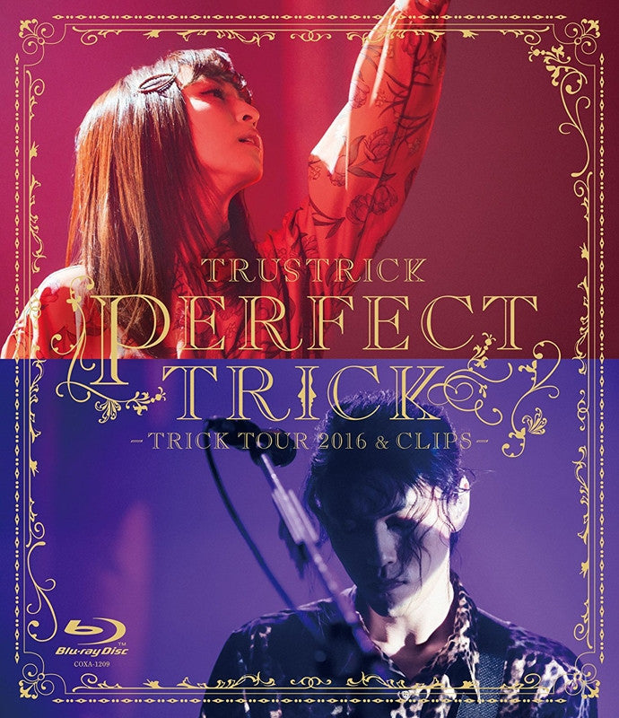 (Blu-ray) TRUSTRICK / PERFECT TRICK -TRICK TOUR 2016&CLIPS-