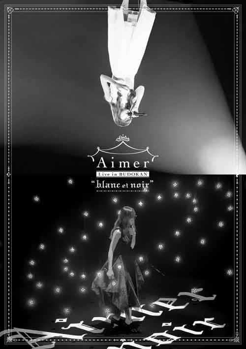 (Blu-ray) Aimer Live in Budokan - blanc et noir [Regular Edition]