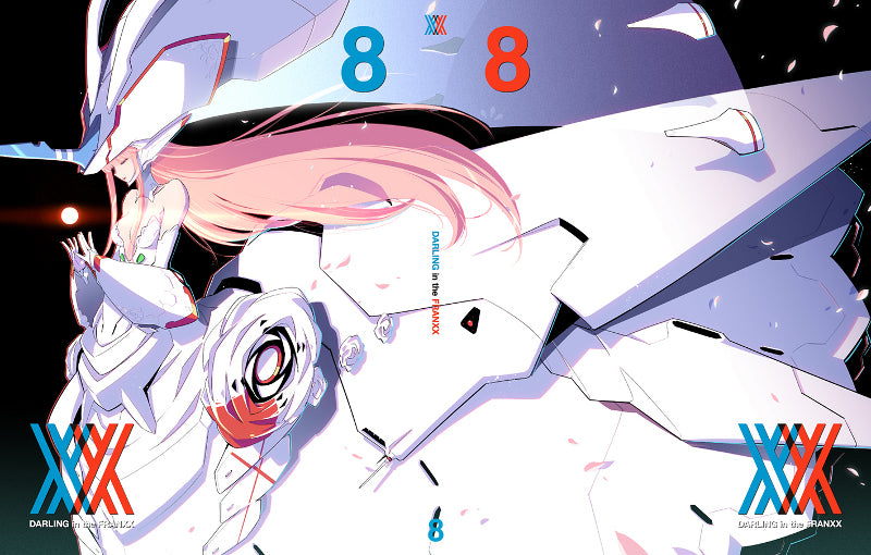 (Blu-ray) Darling in the Franxx TV Series Vol. 8 [Production Run Limited Edition]