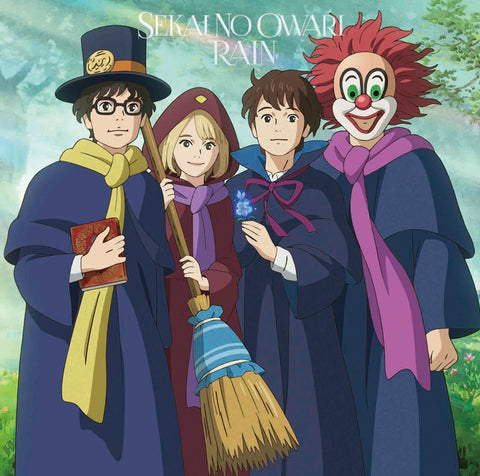 (Theme Song) Mary and the Witch's Flower Movie Theme Song: RAIN by SEKAI NO OWARI [w/ DVD, Limited Edition / Type A]