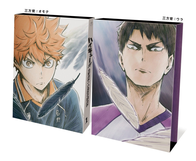 (DVD) Haikyu!! Karasuno High School vs Shiratorizawa Academy TV Series Vol. 1 [First-run Limited Edition]