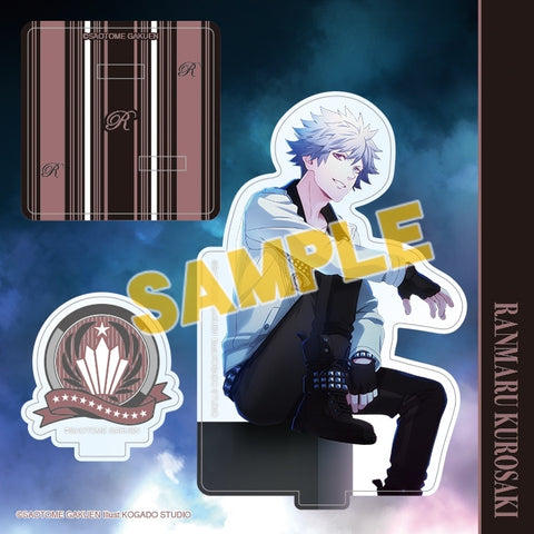 (Goods - Stand Pop) Uta no Prince-sama Acrylic Figure Plate Mystic Light Ver. - Ranmaru Kurosaki [animate Exclusive] (Re-release)