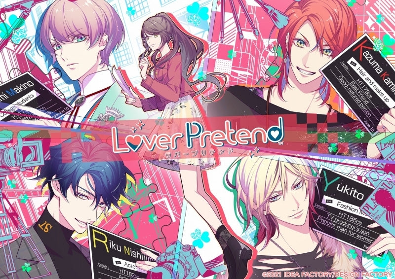 (Nintendo Switch) LoverPretend [Limited Edition, animate Limited Set] {Bonus: CD}{Bonus:CD}{Bonus: Set}