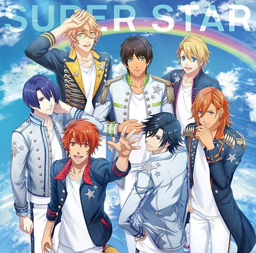 (Character Song) Uta no Prince-sama: SUPER STAR/THIS IS. . . !/Genesis HE★VENS [Cover Art: ST☆RISH Ver.]