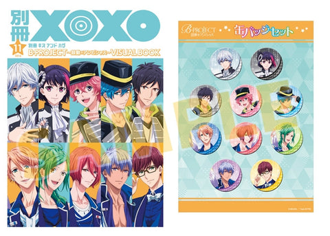 (Artworks) Separate vol. XOXO B-PROJECT~Kodou*Ambitious~ VISUAL BOOK