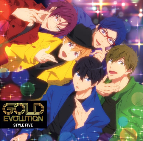(Theme Song) Free! - Dive to the Future TV Series ED: GOLD EVOLUTION by STYLE FIVE
