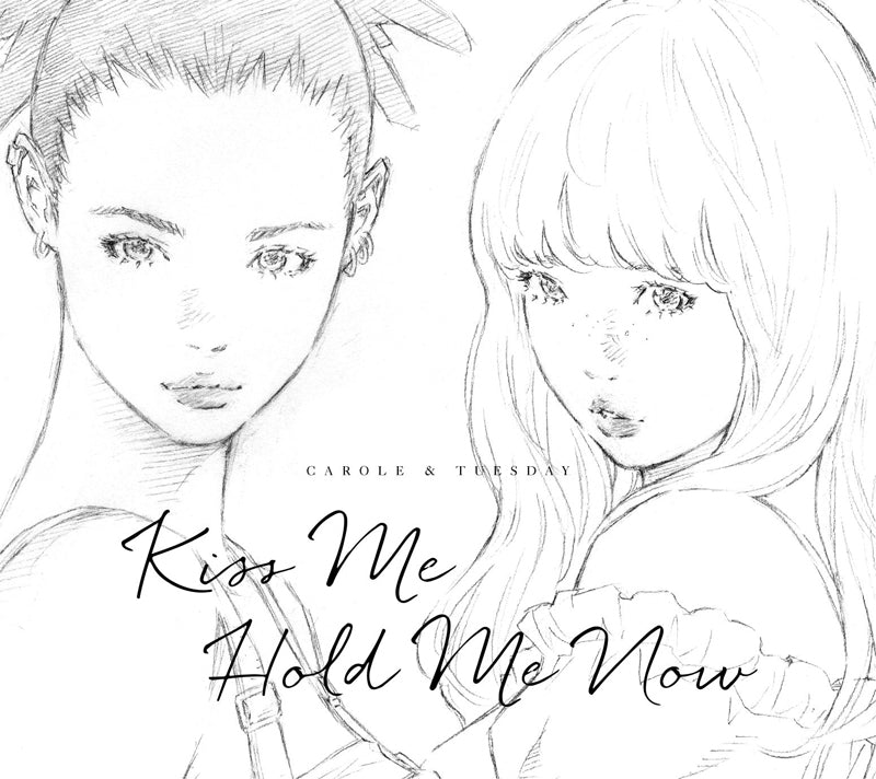 (Theme Song) Carole & Tuesday TV Series Theme Song: Kiss Me/Hold Me Now by Carole & Tuesday (Nai Br. XX & Celeina Ann) [Vinyl Record Edition]