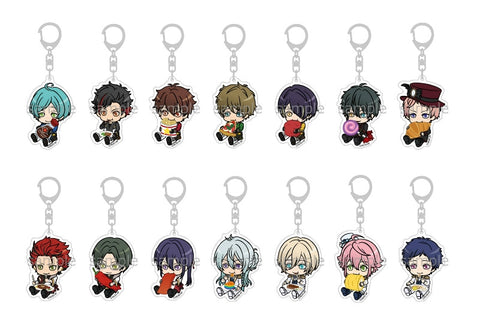 (1BOX=14) (Goods) Ensemble Stars! Mogu Mogu Acrylic Key Chain vol.2