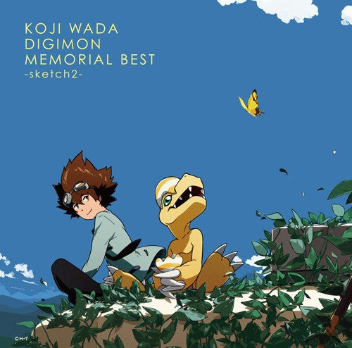 (Album) KOJI WADA DIGIMON MEMORIAL BEST -sketch2- by Koji Wada [Limited Edition]