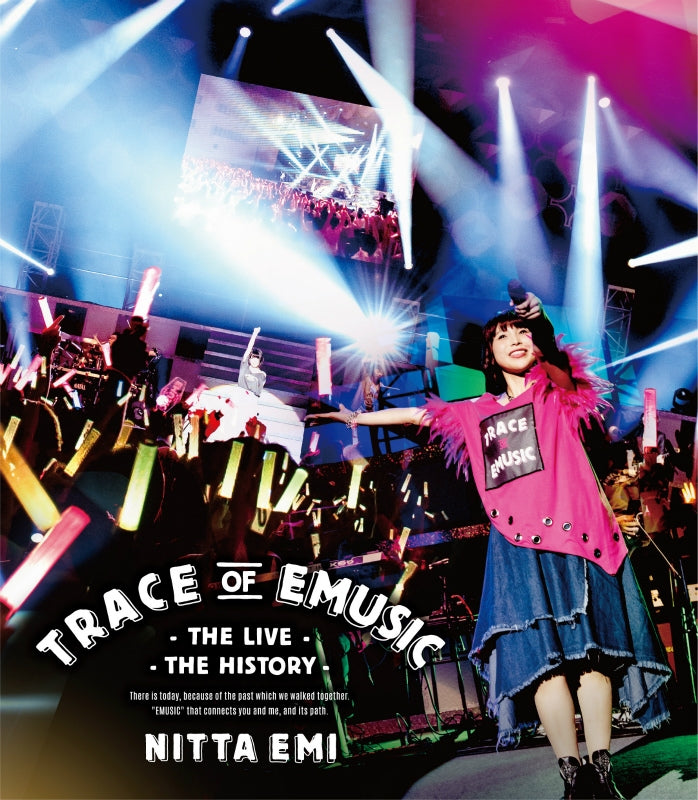 (Blu-ray) Emi Nitta LIVE Trace of EMUSIC: THE LIVE, THE HISTORY [Regular Edition]