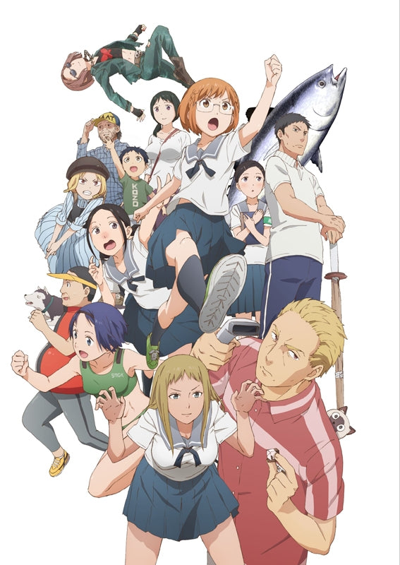 (DVD) Chio's School Road TV Series DVD BOX Part 1