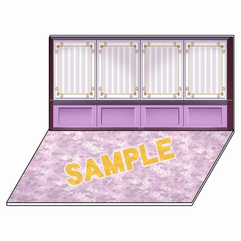 (Goods - Stand Pop) Ten Count for App react Acrylic Diorama Collection Background Western-style Room