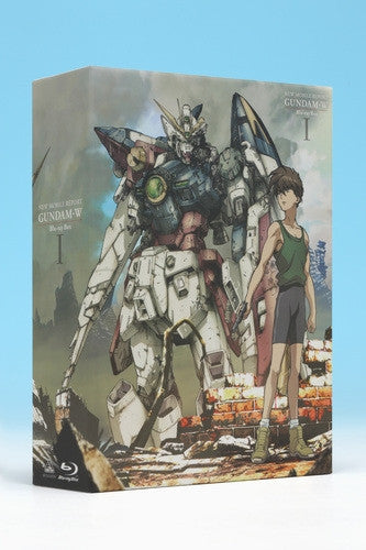(Blu-ray) TV Mobile Suit Gundam W Blu-ray Box 1 [Limited Release]