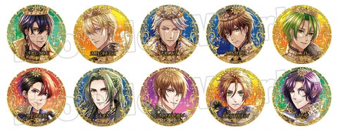(1Box=10) (Goods - Badge) 100 Sleeping Princes & the Kingdom of Dreams Trading Button Badge Awakened Event Costume 8 (Sun Ver.)