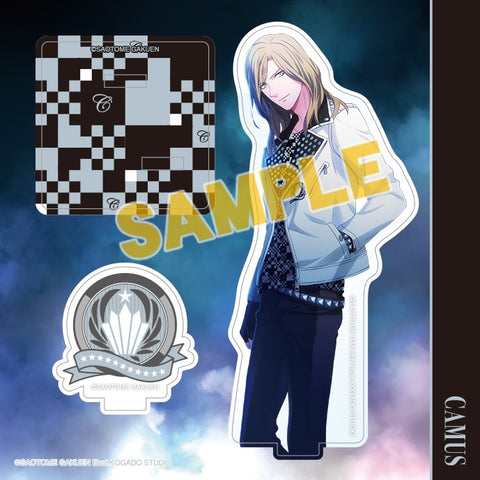(Goods - Stand Pop) Uta no Prince-sama Acrylic Figure Plate Mystic Light Ver. - Camus [animate Exclusive] (Re-release)