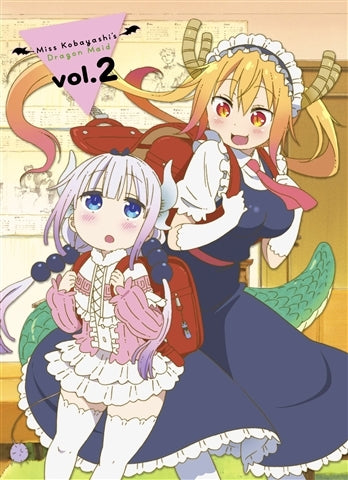 (Blu-ray) Miss Kobayashi's Dragon Maid Vol.2