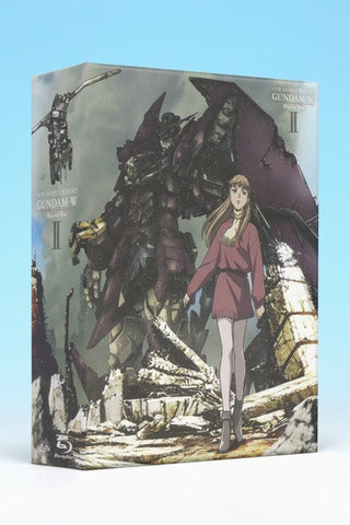 (Blu-ray) TV Mobile Suit Gundam W Blu-ray Box 2 [Limited Release]