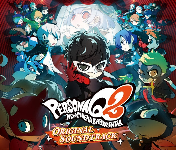 (Soundtrack) Persona Q2: New Cinema Labyrinth Original 3DS Soundtrack