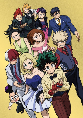 (DVD) My Hero Academia THE MOVIE: Two Heroes [Plus Ultra Edition, animate Limited Set]