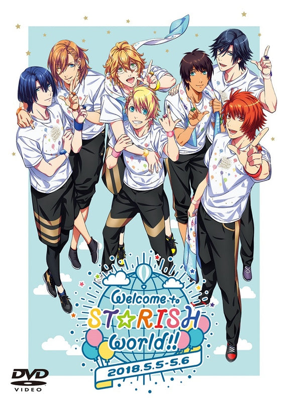 (DVD) Uta no Prince-sama: STARISH Fan Meeting - Welcome to STARISH world!!