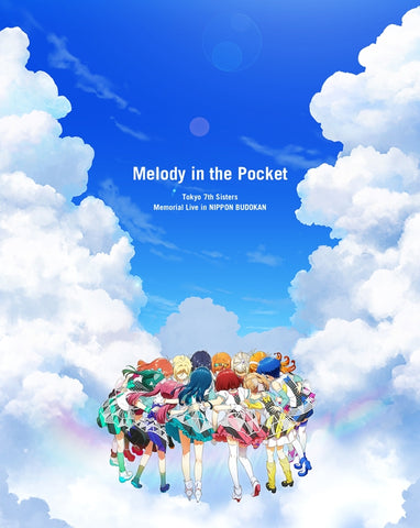 "(Blu-ray) Tokyo 7th Sisters Memorial Live in NIPPON BUDOKAN ""Melody in the Pocket"" [First Run Limited Edition]"