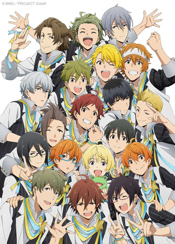 (Blu-ray) THE IDOLM@STER (Idolmaster) SideM TV Series Vol. 2 [Full Production Limited Edition]