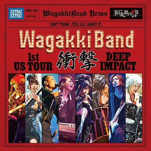 (Album) Wagakki Band 1st US Tour: DEEP IMPACT
