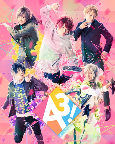 (Blu-ray) A3! Stage Play: MANKAI STAGE ~SPRING & SUMMER 2018~ [Premiere Special Limited Edition]